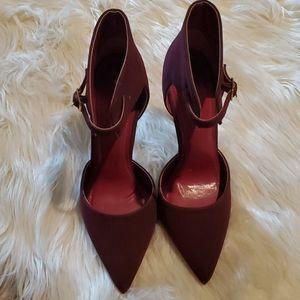 Burgundy Heels!